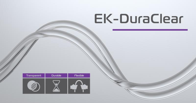 EK 推出新款的EK-DuraClear 水冷管,更棒的彎曲率和更好耐用度