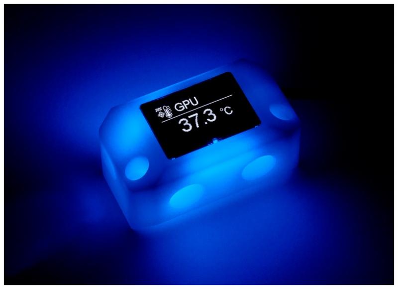 Aqua Computer 推出VISION Lineup系列監控產品,可用來監控水冷流量並發出警示