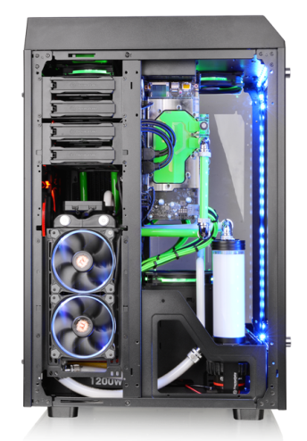 曜越 Thermaltake 全新The Tower 900 E-ATX全景直立式機殼系列