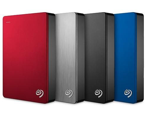 Seagate Backup Plus 5TB 行動硬碟上市售價 6,999 元