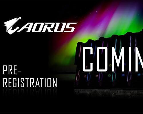 技嘉展示 AORUS 系列主機板樣貌