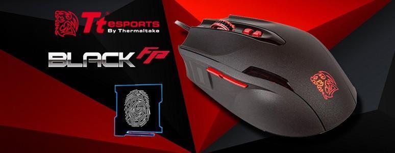 [XF] Tt eSPORTS BLACK FP 指紋辨識電競滑鼠開箱 / 一觸登入 安全便利