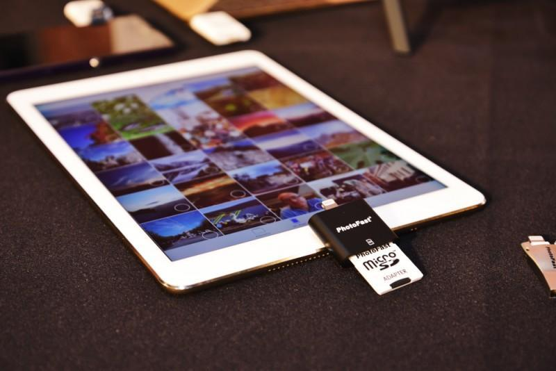 PhotoFast 推出首款 4K iReader Apple 專用 microSD 讀卡機