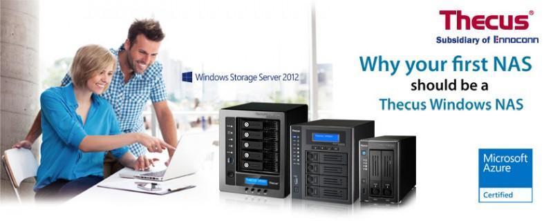 Thecus Windows NAS – 獨一無二的新選擇