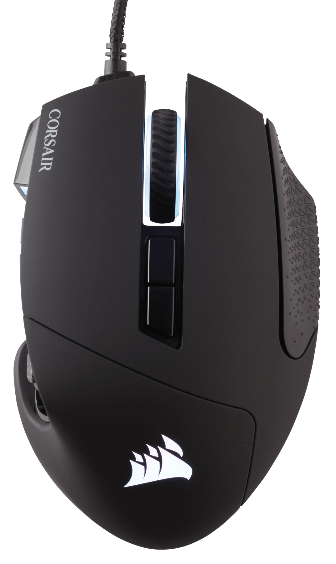 CORSAIR推出新款Scimitar PRO RGB Optical MOBA/MMO電競滑鼠 - XFastest - Scimitar_PRO_BLK_20.png