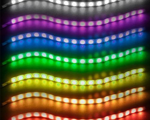 SilverStone 推出 LS02 軟性燈條 點亮你的機殼