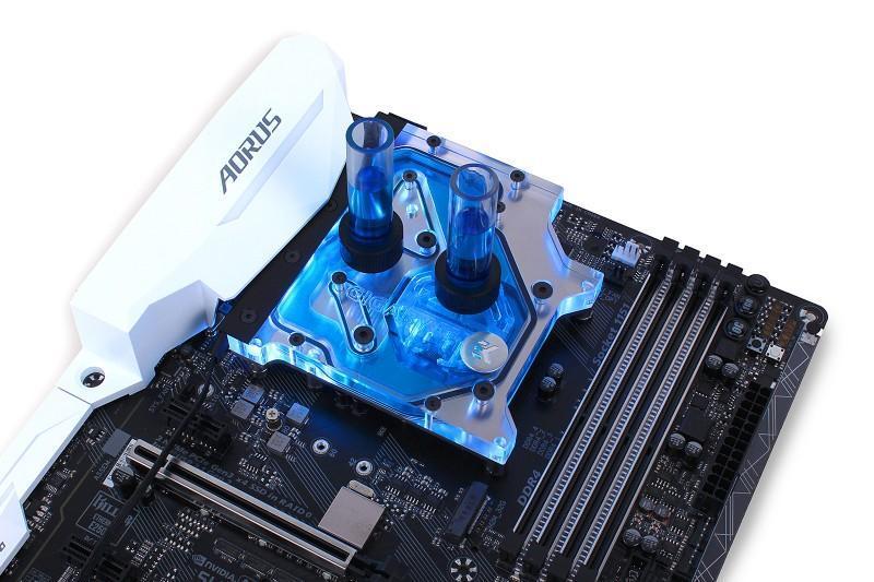 EK釋出RGB monoblock for GIGABYTE Z270X主機板