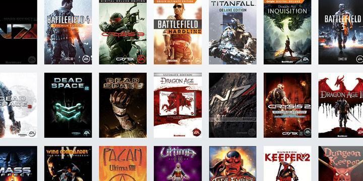 EA Origin access 讓你免費玩 7 天各種大作遊戲