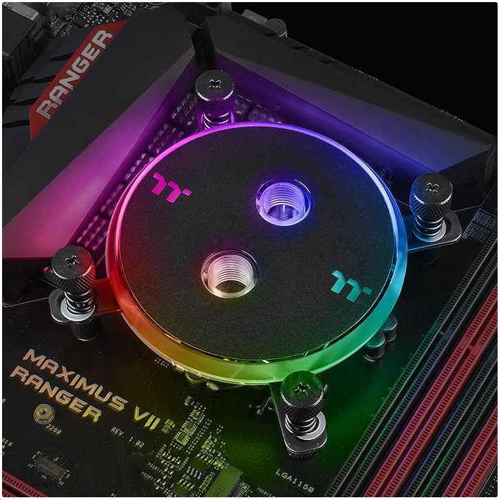 Thermaltake 曜越推出Pacific W4 RGB CPU水冷頭