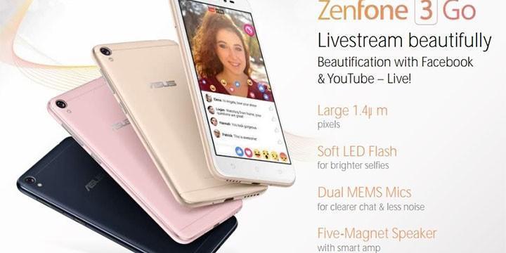 ASUS ZenFone 3 Go?平價實況美肌新手機