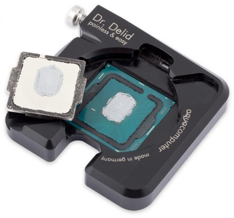 Aqua Computer 釋出Dr. Delid CPU開蓋工具,開蓋恢復都方便