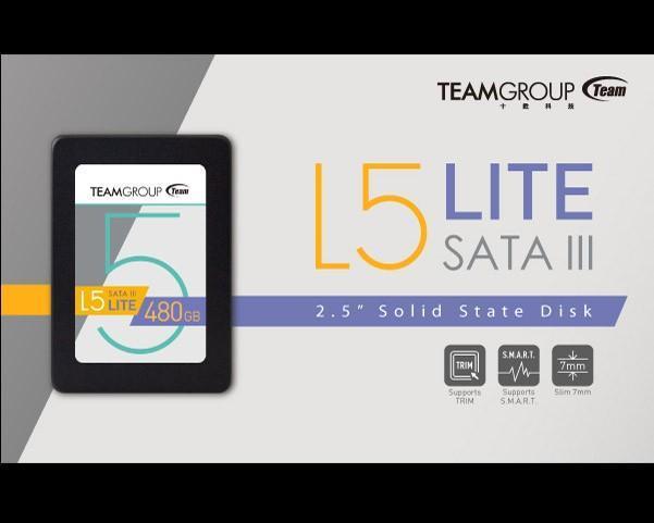 十銓科技推出全新固態硬碟L5 LITE 輕薄堅固取代傳統硬碟的智慧首選