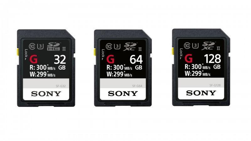 世界最速SD記憶卡! Sony SF-G系列在台上市
