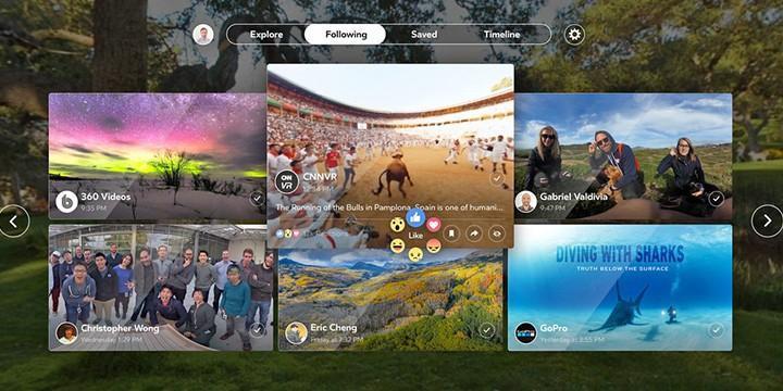 "Facebook 推出 VR App ""Facebook 360"""