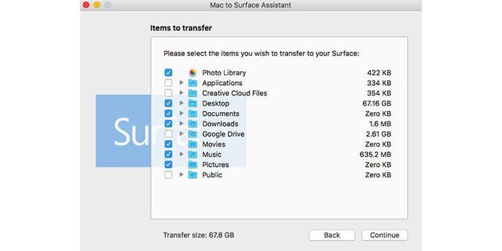 Microsoft Tool 幫你從 MAC 搬移資料至 Surface 筆電