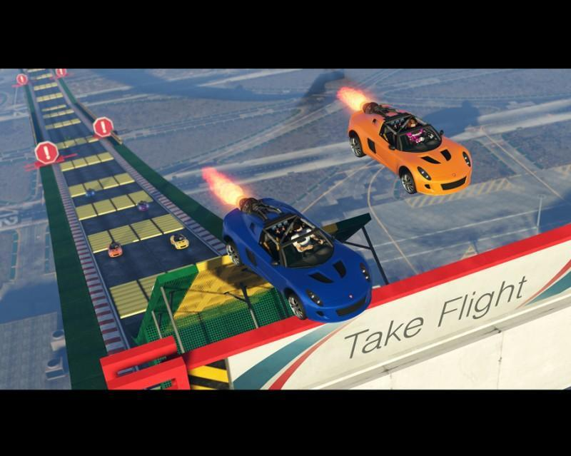GTA 線上模式新內容:傳奇車業現在推出海角拉斯頓,外加特技競速製作器將可使用特殊...