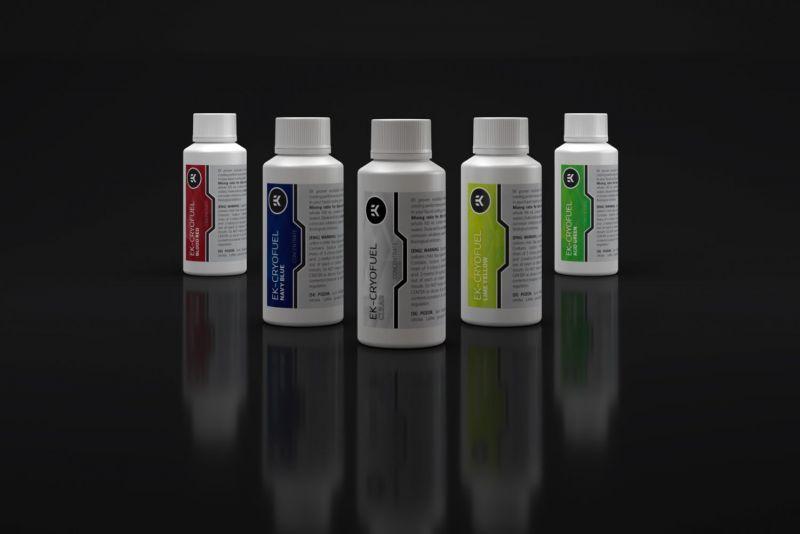 EK推出EK-CryoFuel系列水冷液體,主打性能與穩定性,低黏著抗腐蝕維護更簡單