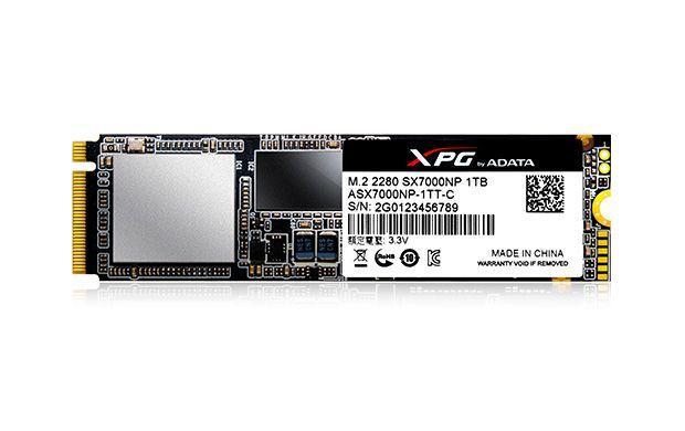 ADATA推出XPG SX7000 PCIe Gen3x4 M.2 2280固態硬碟