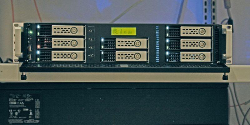 Thecus(R) N8880U-10G獲德國媒體LANline評測