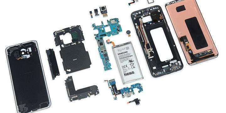 IFIXIT 拆解 Samsung Galaxy S8+ 看樣子相當安全