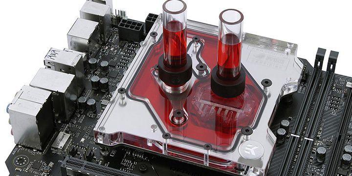 EK 推出 ROG Maximus IX Apex 專用 Monoblock 水冷頭