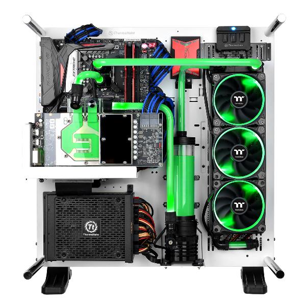曜越全新Pacific V-GTX 1080Ti透明水冷頭 專為華碩ASUS ROG STRIX GTX 1080 Ti顯卡打造