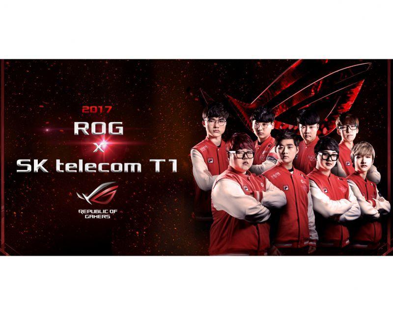 電競新勢力! ROG玩家共和國結盟《LoL英雄聯盟》世界冠軍隊—「SK telecom T1」