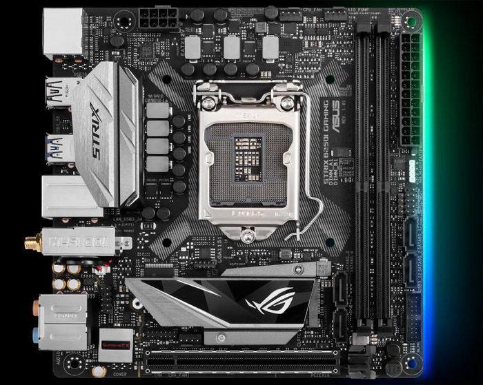一對孿生兄弟,華碩推出ROG STRIX H270I/B250I兩款ITX主機板