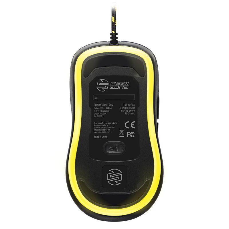 旋剛發表 SHARK ZONE M52 電競滑鼠