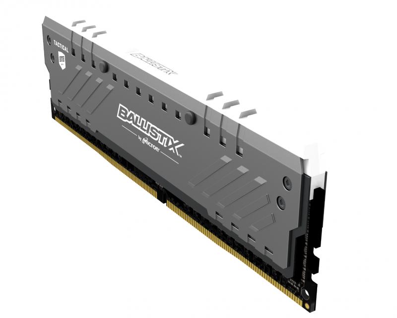 Ballistix 發表 Tactical Tracer DDR4 RGB 電競記憶體模組