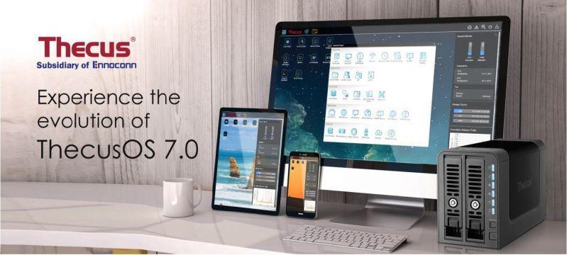 Thecus(R) 發表全新升級的ThecusOS 7.0