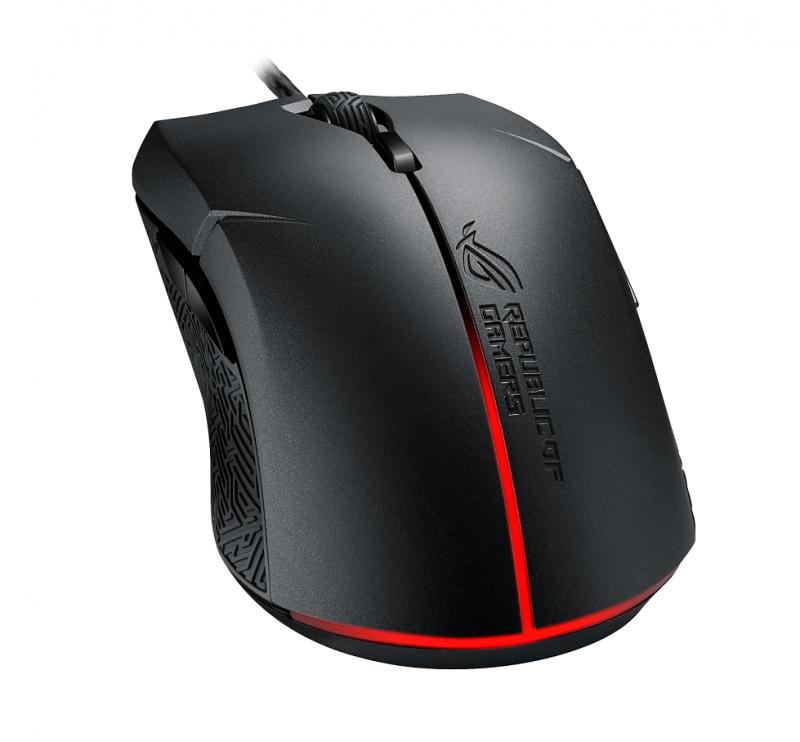華碩ROG玩家共和國推出全新Pugio、Strix Evolve電競滑鼠