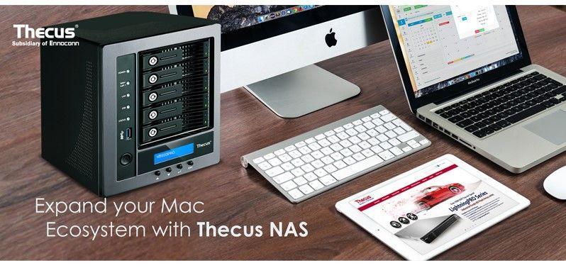 讓Thecus NAS成為您MAC周邊的一員