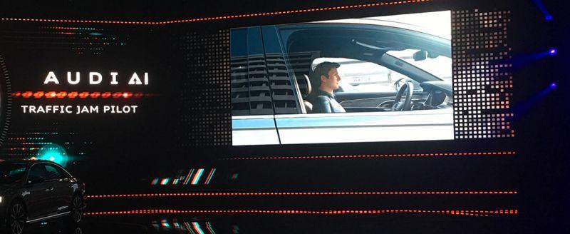 NVIDIA攜手奧迪推出顛覆運輸型態的全新 A8 車款