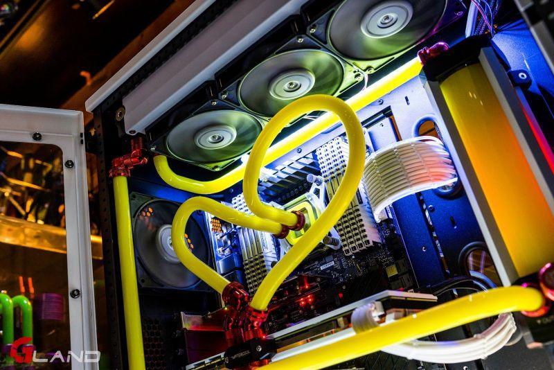 多變化彎管造型水冷電腦
