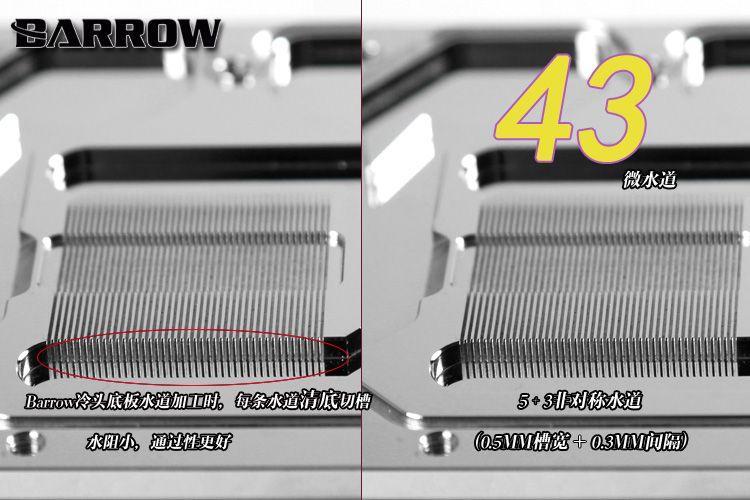 Barrow 影馳名人堂 Galaxy GTX1080Ti 顯卡冷頭BS-GAH1080T-PA