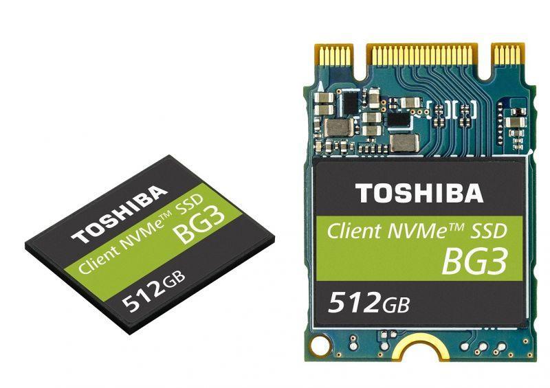 東芝宣布推出 單一封裝NVMe客戶型固態硬碟 搭載64-LAYER 堆疊技術及3D快閃記憶體