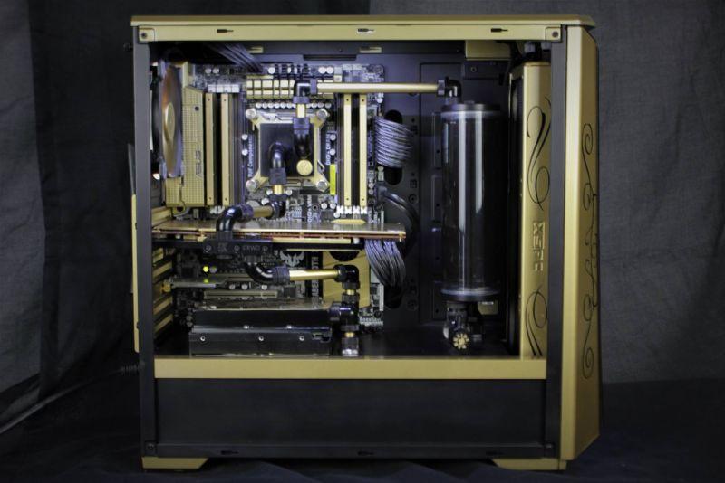 黃金水冷電腦