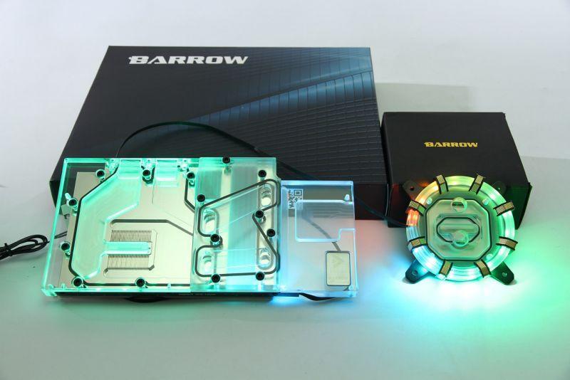 Barrow INTEL平台 極光 噴射型微水道CPU水冷頭 限量版 LTYKB-ARK