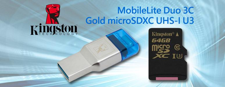 Kingston MobileLite Duo 3C 雙頭讀卡機配 Gold 64GB XC 記憶卡開箱測試 [XF] - XFastest - kingston mobile-lite-duo-3c.jpg