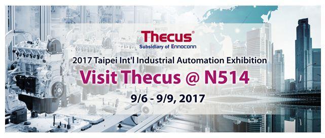 Thecus誠摯邀請您同來2017台北國際自動化工業大展,見證工業4.0革命的魅力