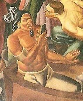 """歷史壁畫發現400年前美洲原住民也是""""低頭族""""?!"""