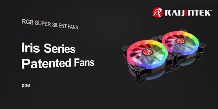 宗暘推出 Iris 12 Rainbow RGB 風扇