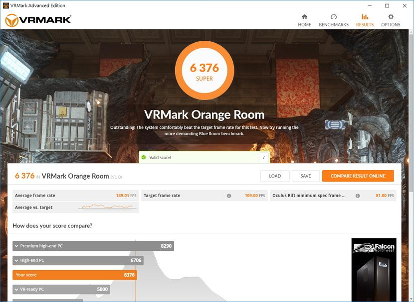 [開箱] 體積小巧VR遊戲小主機 GIGABYTE 技嘉 BRIX GAMING VR - XFastest - VRMark Orange Room.jpg