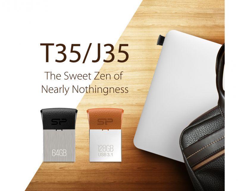 感覺不存在 方便好攜帶 SP廣穎電通推出全新Touch T35 & Jewel J35 迷你設計款隨身碟