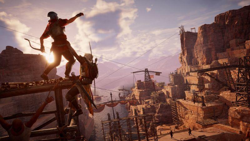 UBISOFT 公布《刺客教條:起源》上市後續追加遊戲內容