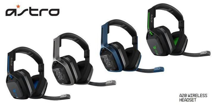 羅技推出 ASTRO A20 無線耳機