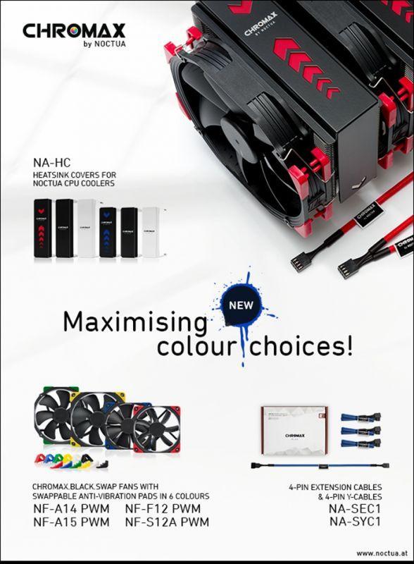 沒RGB照樣玩多彩外觀,貓頭鷹推出Chromax系列產品