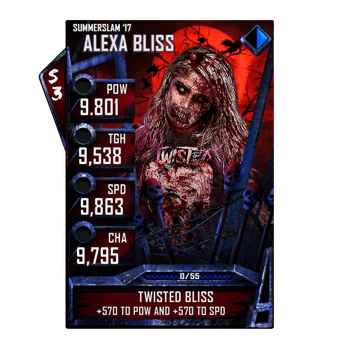 《WWE SuperCard》舉辦首次萬聖節活動 - XFastest - AlexaBliss_SS17.jpg