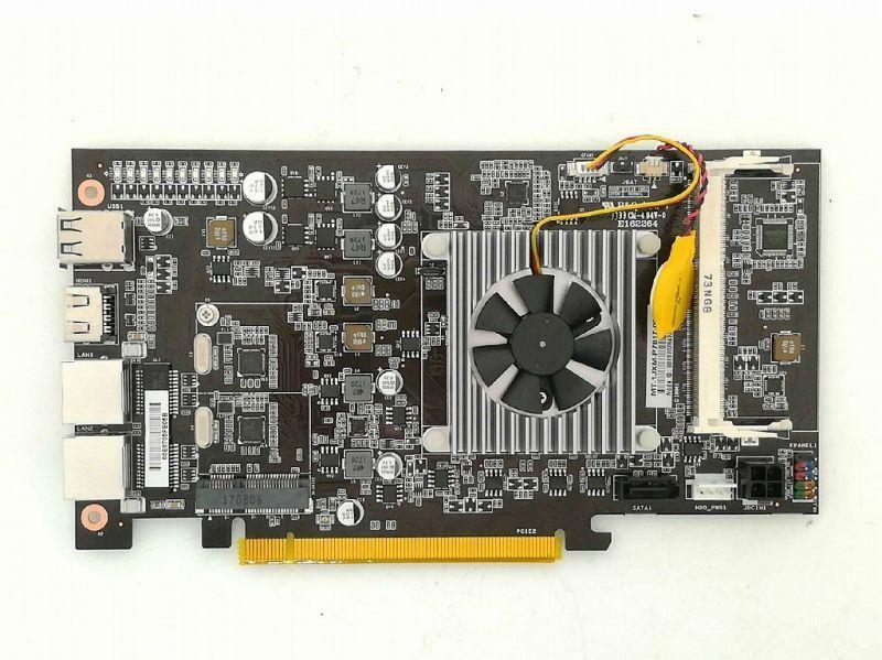 七彩虹再造純挖礦主機板:直插八塊顯示卡CPU靠擴充